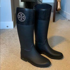Authentic Tory Burch Rain Boots
